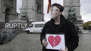 Belgium: Police disperse anti-COVID restrictions protest and make arrests in Brussels