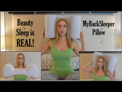 How to sleep on your back back sleeper pillow youtube The more pillows you sleep with