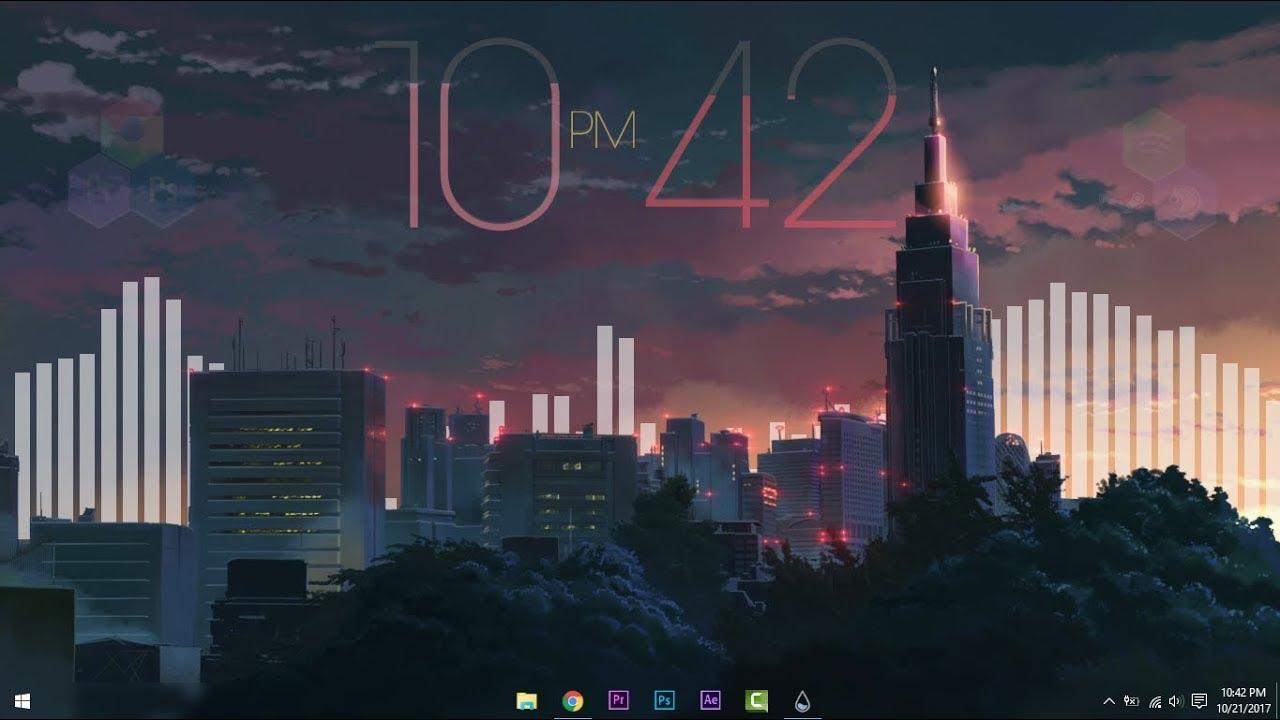 Beautiful Wallpapers 3d Animation Tokyo Desktop Make Windows Look Better Youtube