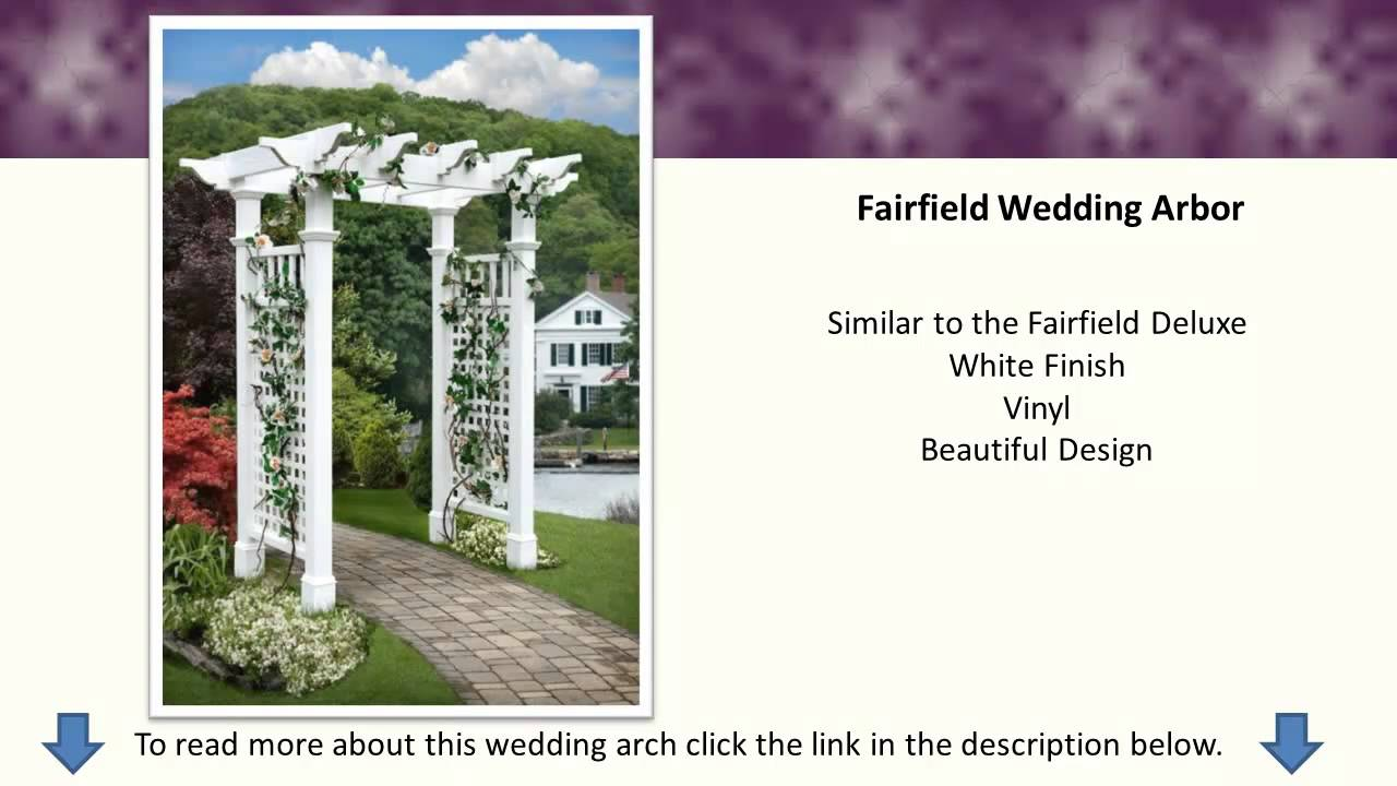 Wedding Trellis Ideas Part - 24: Wedding Arches - Wedding Arch Ideas - Arbors, Gazebos - YouTube
