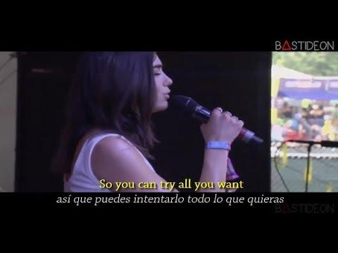 Dua Lipa - IDGAF (Sub Español + Lyrics)