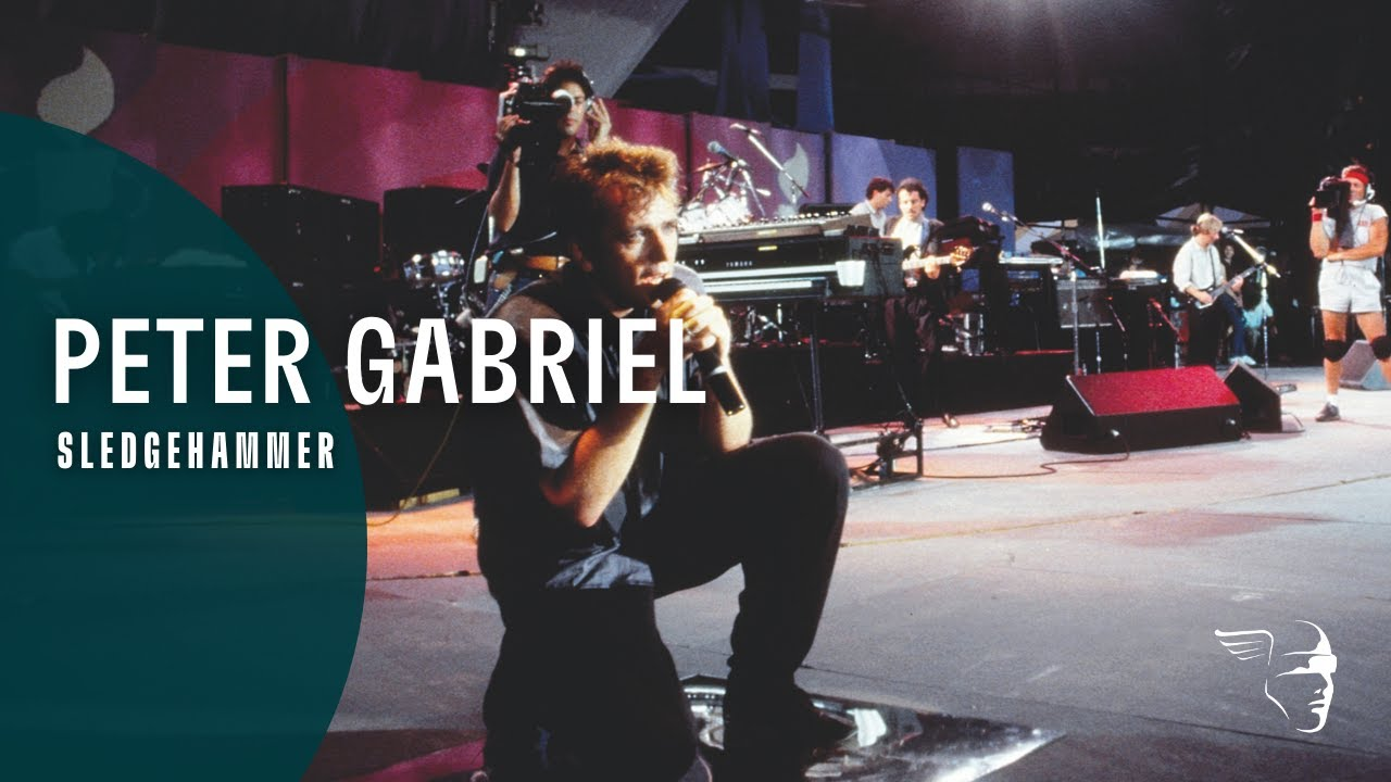 Peter Gabriel - Sledgehammer (Live in Athens 1987)