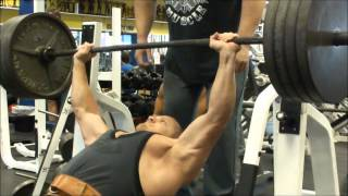 Chest Training With Ifpa Pro Kent Bierly