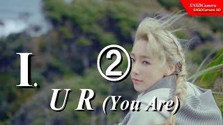 "151114 SNSD Taeyeon ""I""  ❷ UR 是你 MV Unofficial 【中】CC open 1080p60"