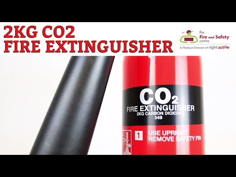 2kg Co2 Fire Extinguisher with Free Sign