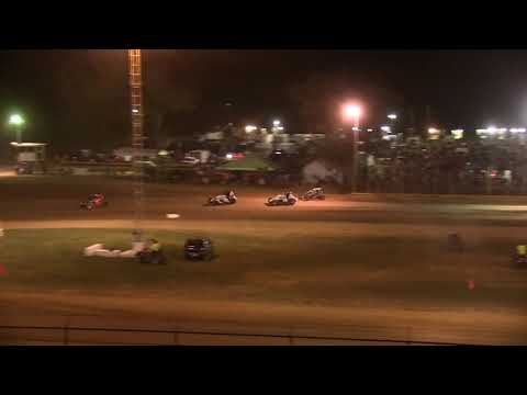 Sprint Car A Main at Lincoln Park Speedway 9-21-19