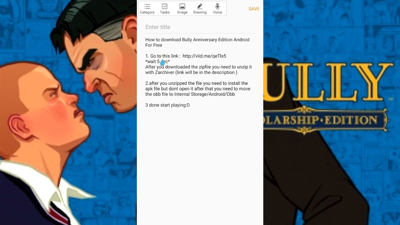 download bully anniversary edition obb file