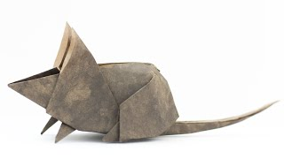 Origami Mouse. Paper animals