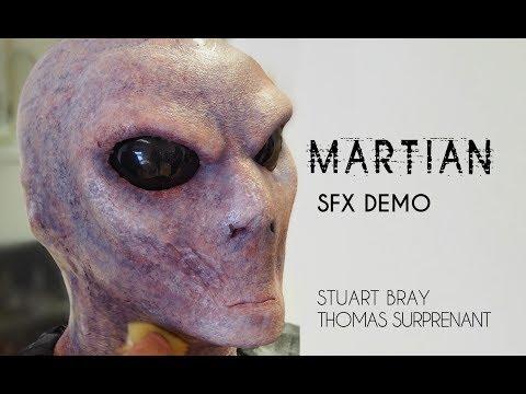Martian Sfx Makeup Demo Stuart Bray Thomas Surprenant