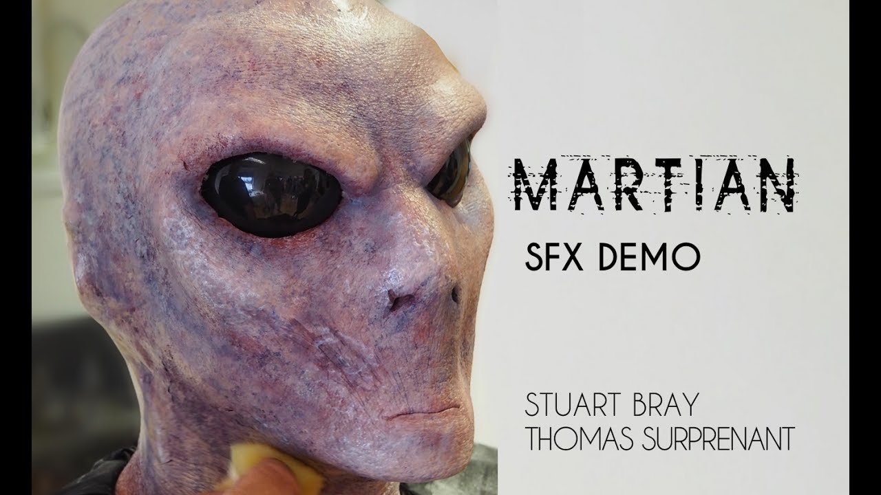 Martian SFX MakeUp Demo | Stuart Bray & Thomas Surprenant | Shonagh Scott | ShowMe MakeUp