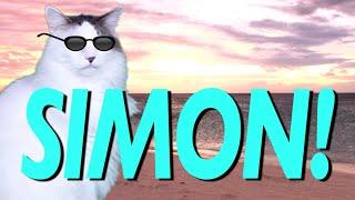 HAPPY BIRTHDAY SIMON! - EPIC CAT Happy Birthday Song