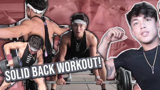 Back Workout with Alexander Diaz