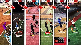 EVOLUTION OF NBA 2K JUMPSHOT METER!!! (NBA 2K14 - NBA 2K19)