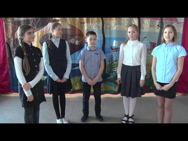 Изображение предпросмотра прочтения – «Учащиеся ГБОУ Школа №1770 г.Москвы» читают произведение «Лебедь, Рак и Щука» И.А.Крылова