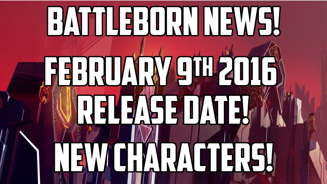 Battleborn Release Date Set For February 9, Four New Characters ...