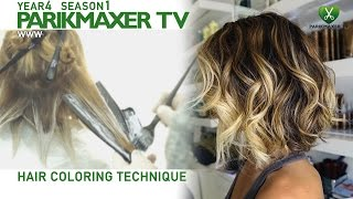 Техника нанесения блондора. How to color hair in blonde парикмахер тв parikmaxer.tv(, 2015-03-04T11:13:02.000Z)