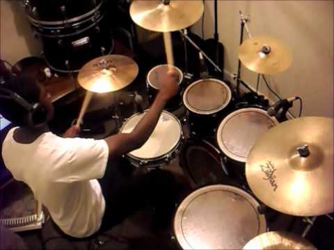 Saved by Grace Drum Cover (Israel Houghton)