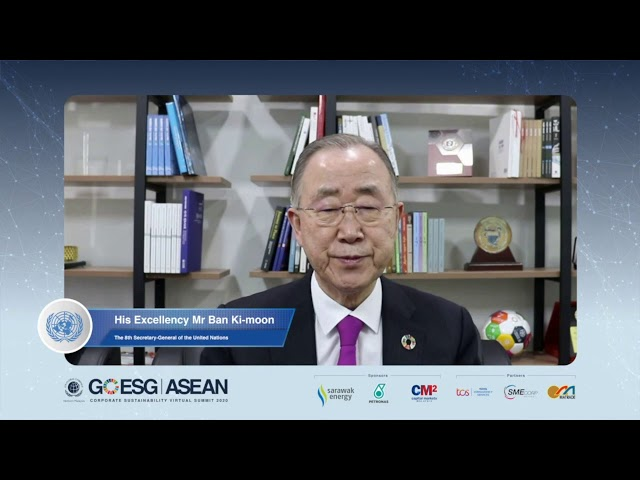 Day 2: Closing Keynote by HE Mr Ban Ki moon, 8th Secretary-General of United Nations