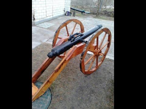 Пушка из дерева своими руками