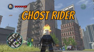 LEGO Marvel Superheroes - Ghost Rider Free Roam Gameplay