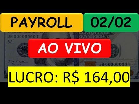 02/02 - PayRoll AO VIVO - Day Trade - Mini Contratos e Ações