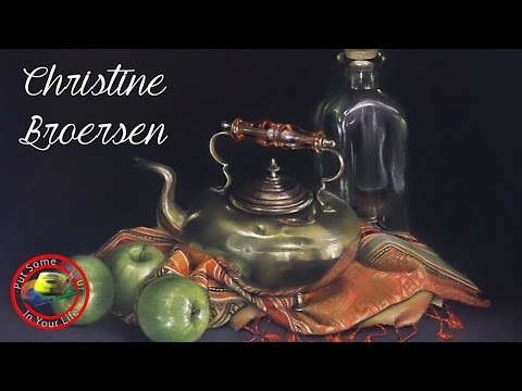 Fine Art Tips with Christine Broersen on Colour In Your Life
