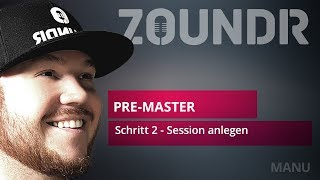 🎥Session anlegen - Import & Trackliste sortieren