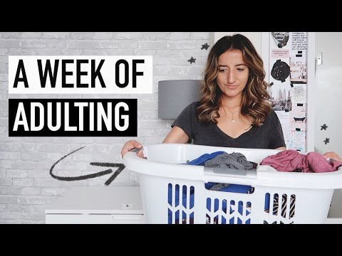 a week in my life of adulting | organizing my life + getting things done