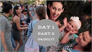 Making new friends in the park! | Disneyland vlog #17