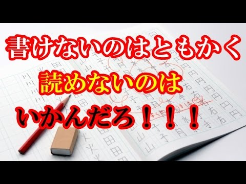 漢字書くのは絶望的に忘れてるから絶対無理・・・読みもどんどん忘れていってるけど。その現状に世界はびっくりしていた【海外の反応】