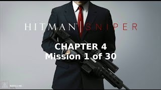 Hitman: Sniper | Chapter 4 | Mission 1 of 30