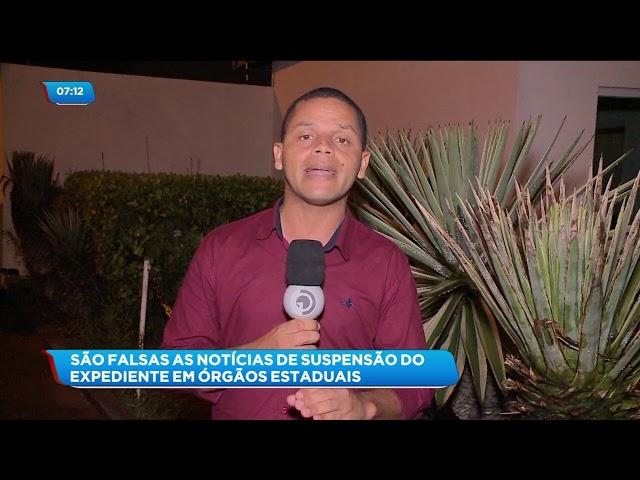 Coronavírus: São falsas as notícias de suspensão do expediente em órgãos estaduais