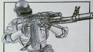 Pubg Drawing Easy