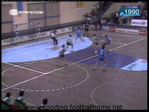 Andebol :: 03J :: Belenenses - 19 x Sporting - 13 de 1989/1990 - 2 Fase