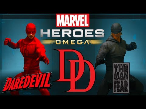 Marvel Heroes Omega DAREDEVIL Open Beta Launch! [Playstation 4 Pro]