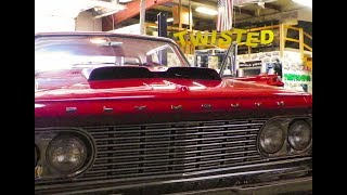 Plymouth Savoy & Her Patiently Awaited 10 Year Debut at Twisted Pipes Custom Exhaust