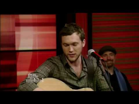 Phillip Phillips - Raging Fire (Acoustic) - Live! With Kelly and Michael - (5-23-14)