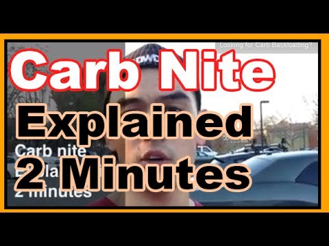CarbNite Explained in 2 minutes