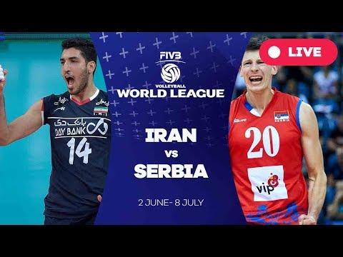 Iran v Serbia - Group 1: 2017 FIVB Volleyball World League