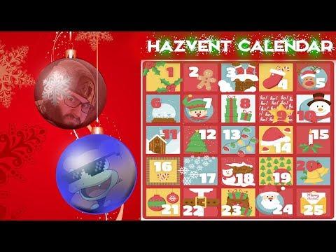 THE HAZVENT CALENDAR | Exclusive Hazzy December Event