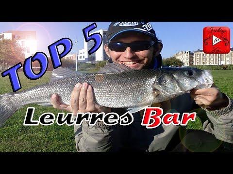 MON TOP 5 DES LEURRES POUR LE BAR (Street-fishing)