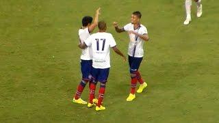 Bahia 3 X 2 Juazeirense. Gols de Juninho, Sassá, Maxi, Souza e  Zé Roberto. (19/4/2015)