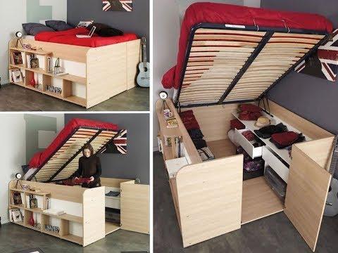 НЕВЕРОЯТНАЯ мебель ТРАНСФОРМЕР. Как увеличить пространство в квартире