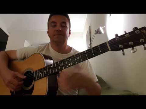 Canzone di Vasco Rossi cover chitarra acustica