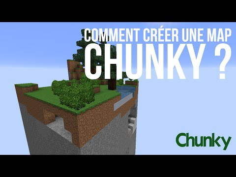 tuto minecraft comment cr er une map chunky avec un seul chunk. Black Bedroom Furniture Sets. Home Design Ideas