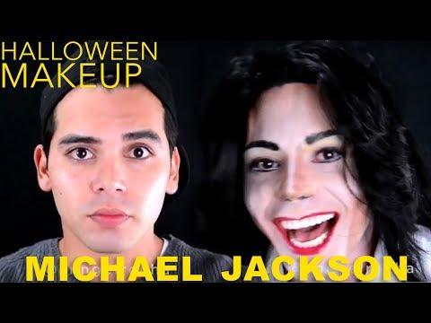 Halloween Makeup Tutorial: Michael Jackson Makeup