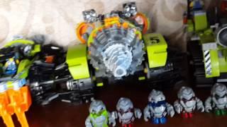 Моя коллекция Lego Power Miners Review (обзор)