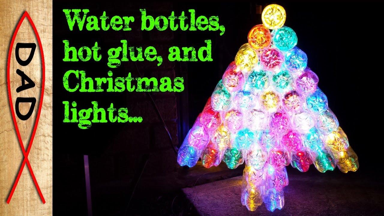Christmas Tree Water.Diy Christmas Tree Water Bottles