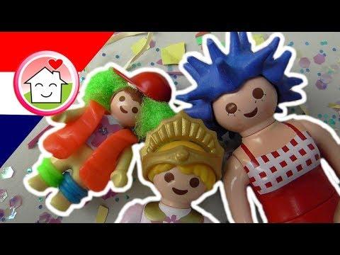playmobil filmpje nederlands carnaval in de kleuterklas - familie