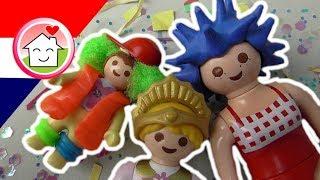 Playmobil filmpje Nederlands Carnaval in de kleuterklas - Familie Huizer Films voor kinderen